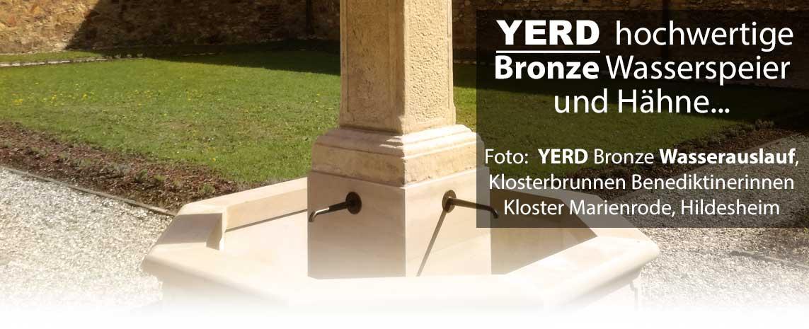YERD Bronze Wasserspeier und Wasserausläufe / Hähne
