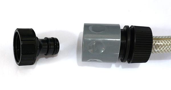 Gardena Kupplung mit Wasserhahn-Anschluss