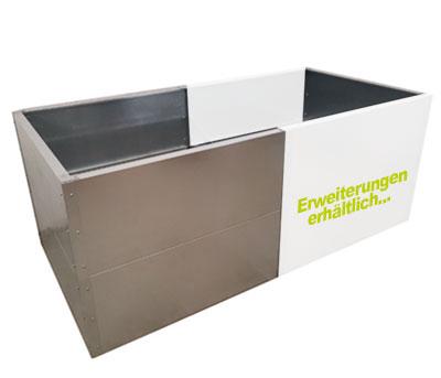 Optionales Verlängerungs-Set für verzinktes Hochbeet Simplex