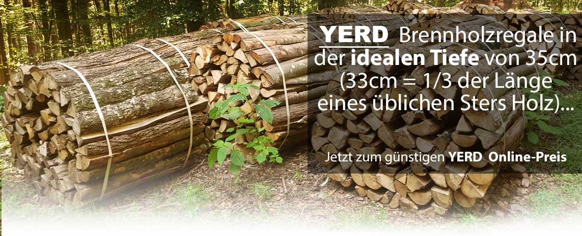YERD Brennholzregal