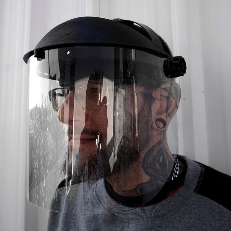 Plexiglas Gesichtschtsschutz - Polycarbonat Visier günstig kaufen