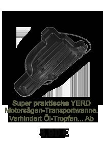 Lagerverkaufs-Angebot:  YERD Motorsäge Transport-Behälter