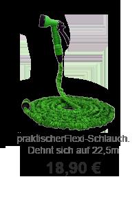 Gartendeko Angebot: Flexi-Gartenschlauch
