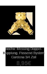 Lagerverkaufs-Angebot:  YERD Dekorative Messing-Kupplung System Gardena