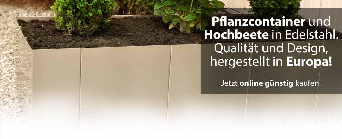 Yerd Basics Design Hochbeete Aus Edelstahl Und Stahl Edelrost