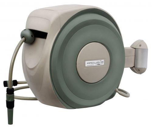 lagerverkauf gartenschlauch schlauchaufroller automatik schlauchtrommel inkl 20 m 1 2 gewebe. Black Bedroom Furniture Sets. Home Design Ideas