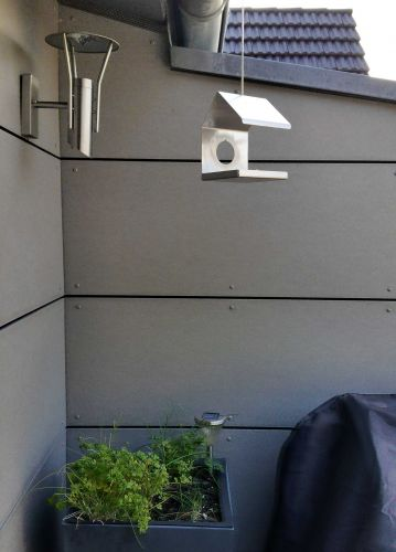 lagerverkauf edelstahl pflanzk bel portal 3 blumentopf blumenk bel yerd gartendeko und. Black Bedroom Furniture Sets. Home Design Ideas