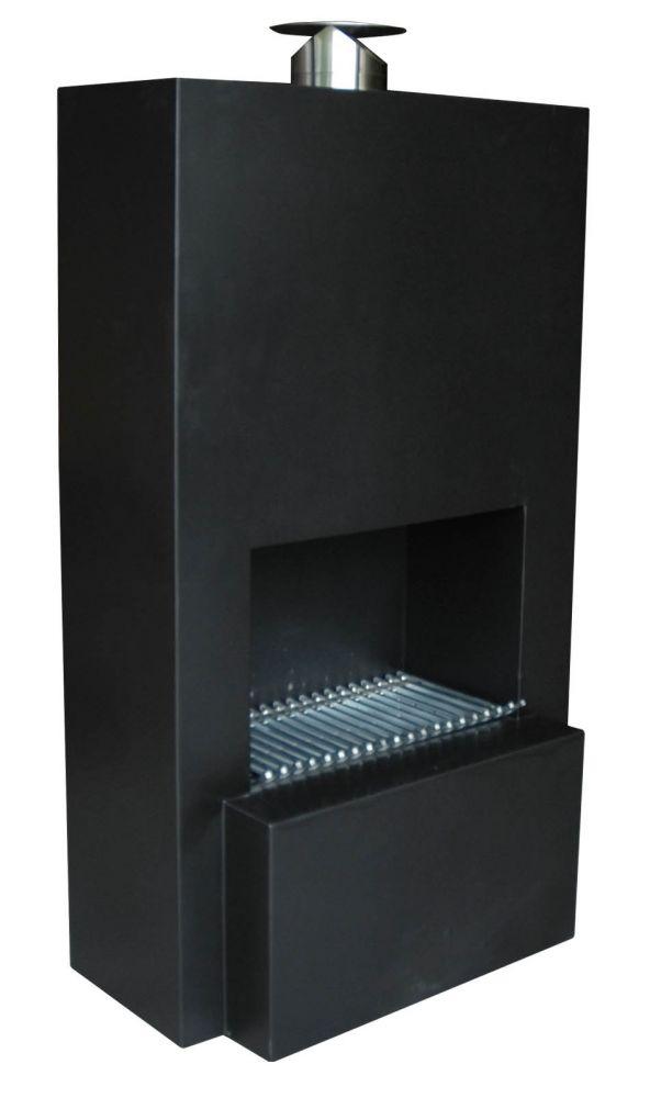 verkauf ab importlager terrassen kamin terassen heizung feuerstelle pinacate black inkl 4. Black Bedroom Furniture Sets. Home Design Ideas