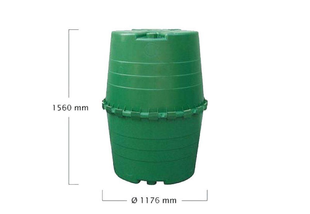 graf garantia top tank 1300 liter yerd gartendeko und gartentechnik produkte g nstig im online. Black Bedroom Furniture Sets. Home Design Ideas