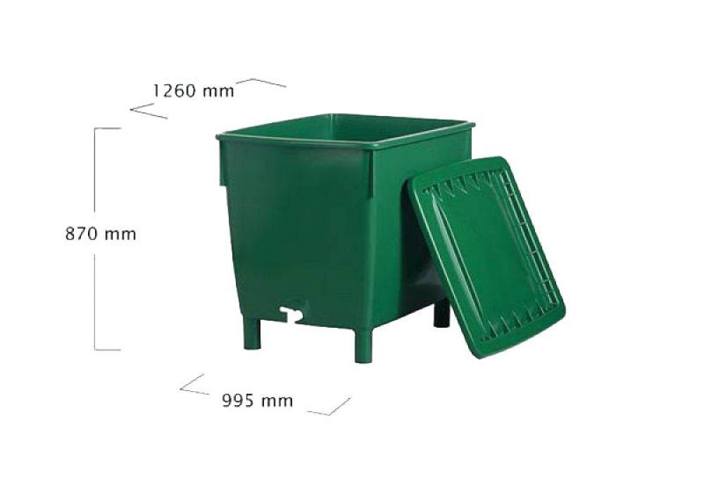 regentonne in profi qualit t 650 liter yerd gartendeko. Black Bedroom Furniture Sets. Home Design Ideas