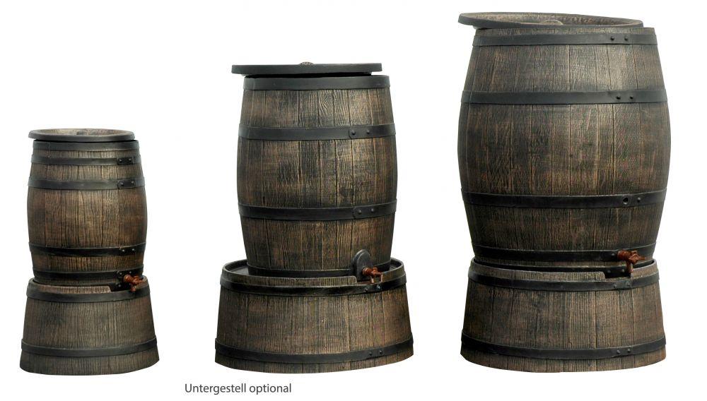 lagerverkauf regentonne holzfass regenfass 120 liter abnehmbarer deckel mit auslaufhahn. Black Bedroom Furniture Sets. Home Design Ideas