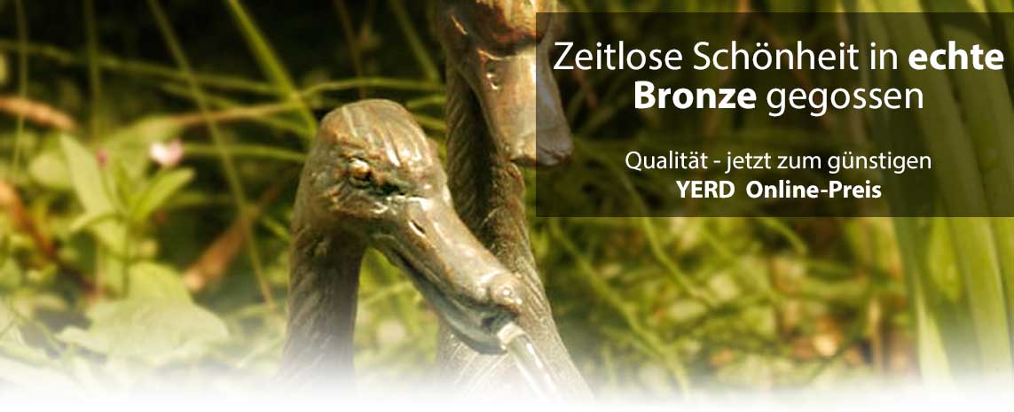 YERD Bronze Tierfiguren Garten