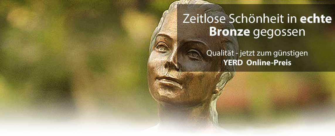 YERD Bronze Figur Frau