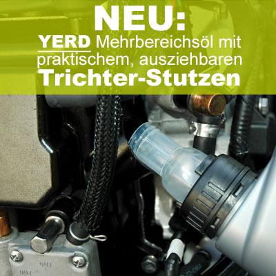 YERD Mehrbereichs-Öl mit Einfüllstutzen / Trichter