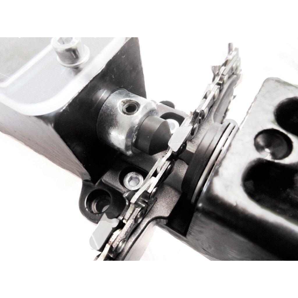 Sägeketten Reparatur-Gerät