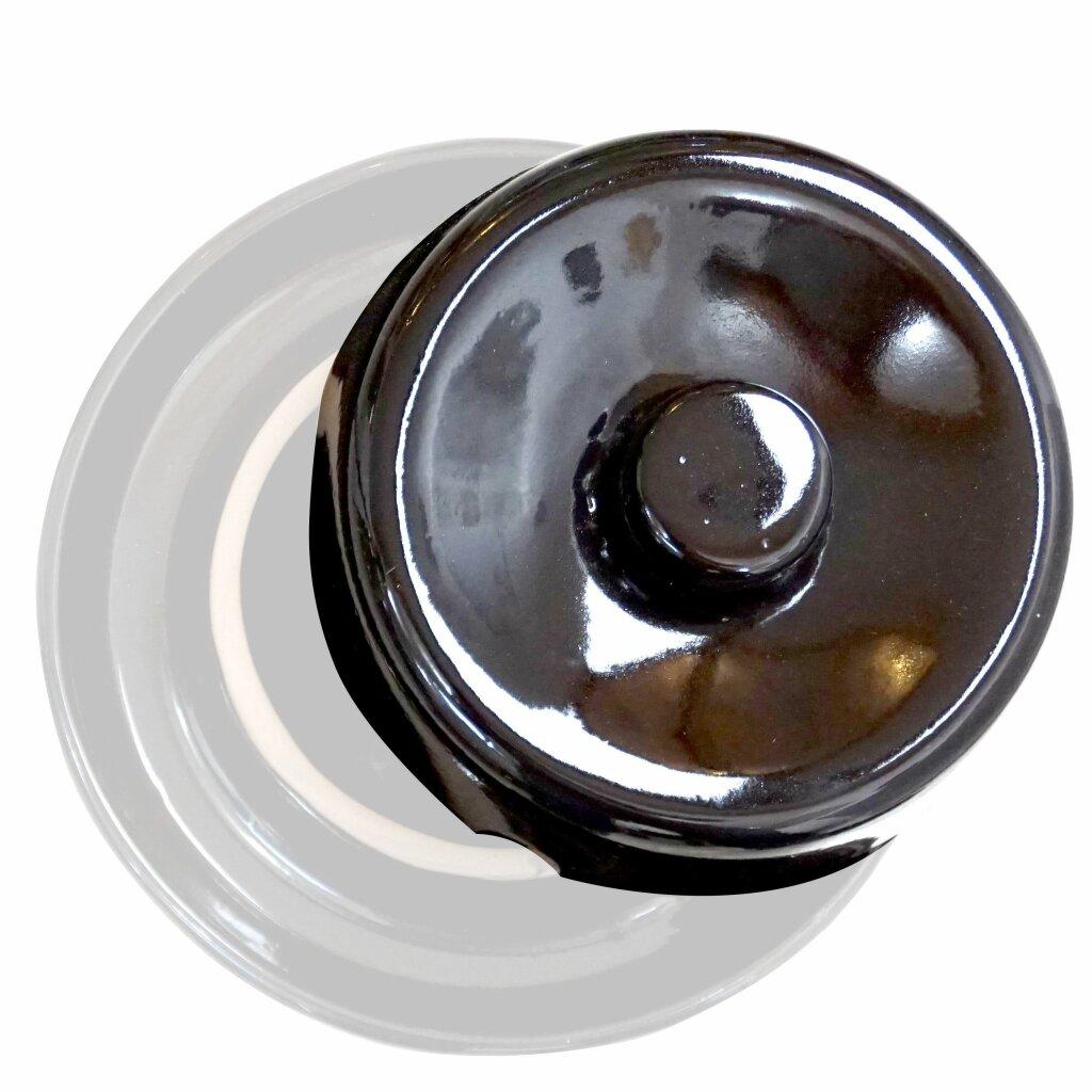 Sauerkraut // Choucroute einfach selbst machen 60 Liter Made in EU Fischer Kellereitechnik Sauerkraut-Fass: G/är-Topf mit hermetischem Wasserrand f/ür Sauerkraut Herstellung