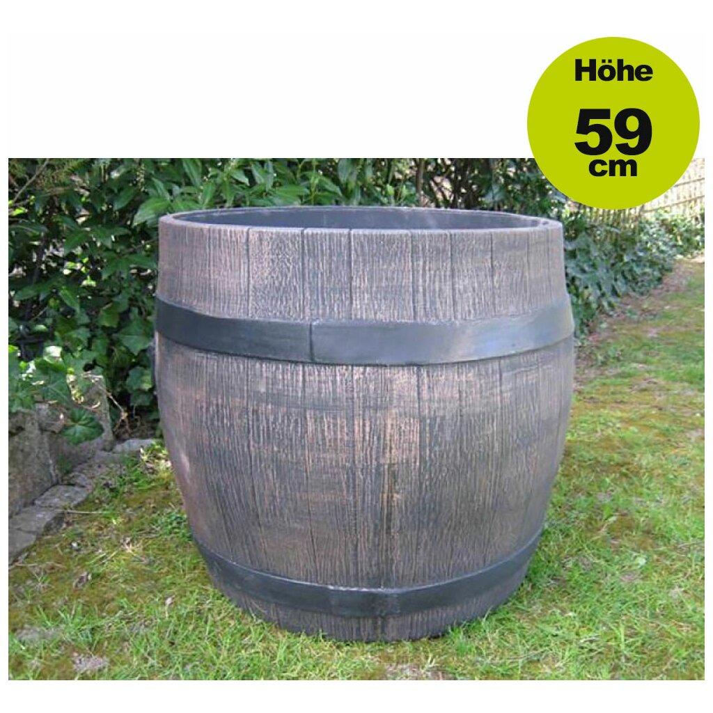 Top ✅ Lagerverkauf Fass-Blumentopf / Blumenkübel: Fass Barrel Gr. XXL DD36
