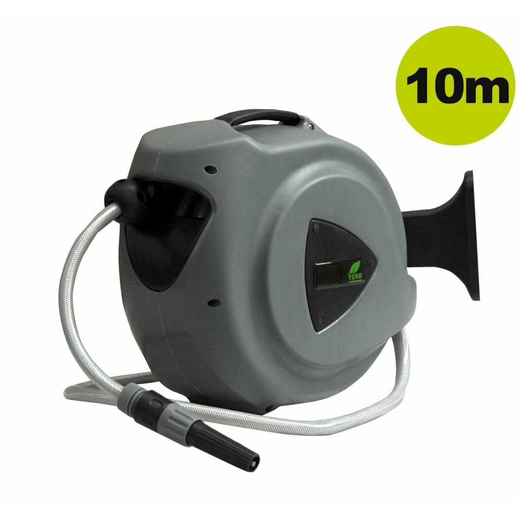 Hervorragend Lagerverkauf: 10m Automatik Schlauchtrommel YERD inkl. 1/2 Zoll LQ98