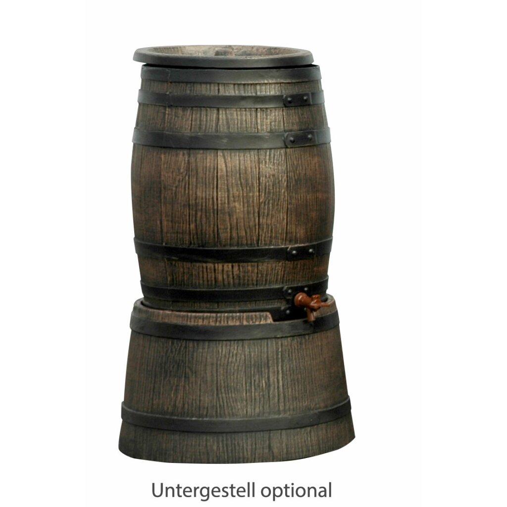 Lagerverkauf regentonne holzfass regenfass 50 liter for Tonne mit deckel 50 l
