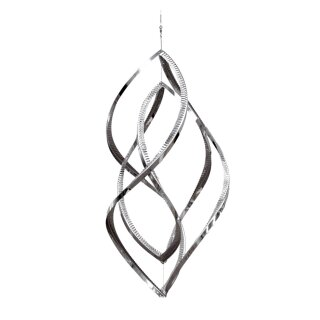 44 cm Metall Hängedeko Edelstahl Windspiel Windspinner Butterfly
